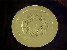 Rosenthal script pattern, dinner plate, Continental