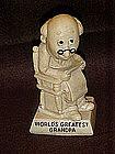Berries sentiment figurine, World's Greatest Grandpa
