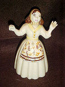 Ceramic Arts Studio Pioneer Susie figurine, brown hair