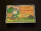 Peanuts Charlie Brown and Woodstocks matchbox