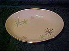 Harmony House China, snowflake oval serving bowl