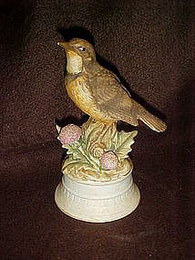 Lefton Limited edition series, meadowlark figurine