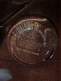 The money Store, crystal advertising paperweight