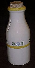 Crock shop, Mediterranean pattern, milk bottle bank