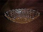 "Fostoria Americam oval bowl 11 1/2"""