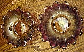 Federal celestial gem-tone bowls