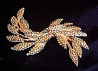 Vintage Sarah Coventry goldtone pin