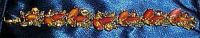 Amazing ART rhinestone and marquise cabochan bracelet