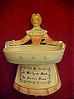 Enesco, kitchen Prayer ladies scouring pad holder