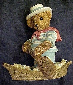 Bears around the world, Italy resin figurine