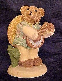 Bears around the world, Mexico, resin figurine