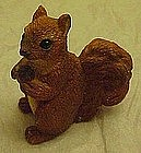 Stone critter littles, squirrel figurine