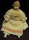 Little bisque doll, Marked Germany on head.