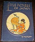 Little Pictures of Japan vintage childrens book
