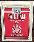 Vintage Pall Mall 25's playing cards mint in packaging