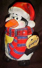 Thats Kooky, Santa Penguin cookie jar