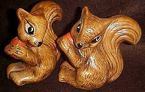 California Originals Squirrels with nut, shakers