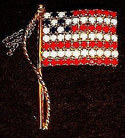 Nice flag pin, old glory