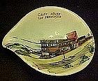 Souvenir ashtray of Cliff House, San Francisco