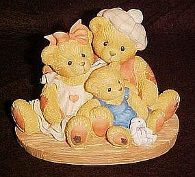 Cherished Teddies, Penny, Chandler & Boots, retired