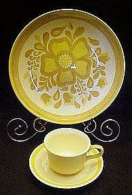 Damsel pattern, dinner plate or cup /saucer by Royal