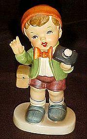 Arnart figurine, the photographer, by Erich Stauffer