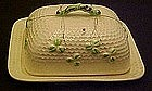 Norcrest beehive, covered  butter / cheese dish T287