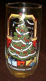 "Pepsi 1983  ""O Christmas tree""  drinking glass"