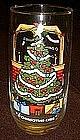 "Pepsi 1983  ""O Christmas tree""  drinking glass"