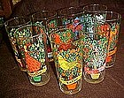 Brockway Pepsi 12 days of Christmas glass, 11th day