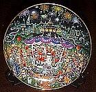 Bill Bell Purr-cuss sectionion , collector plate, mint