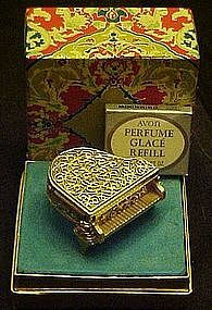 Vintage avon grand piano solid perfume, mint in box