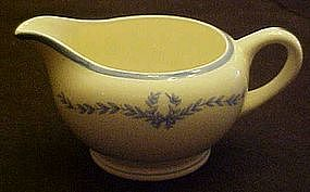 WS George derwood  blue laurel garland, creamer,