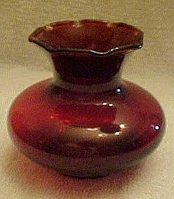 Anchor Hocking Royal Ruby bud vase #R3302