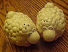 Wooly little sheep, ceramic salt and pepper shakers