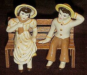 Ceramic Arts Studio Jack and Jill shelf sitters