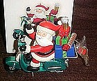 Hallmark Keepsake ornament, Santas Scooter, Magic