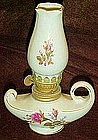 Small Moss Rose  ceramic oil lamp, Perfect