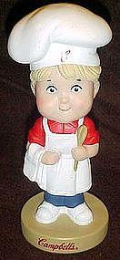 Campbell's kid chef nodder, 2002