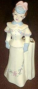 Florence , Young girl figurine flower holder