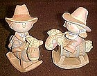 George Good, Bumpkins cowboy and Cowgirl figurines