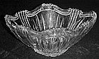 Oneida augustina large  crystal oval bowl, Germany
