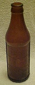 Old amber Certo bottle