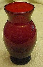 Anchor Hocking Royal Ruby Coolidge vase