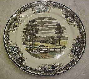 Vintage Spring Valley chop plate / round platter