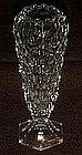 Fostoria american, cupped bud vase