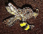 Vintage  Gerrys wasp bee pin, signed