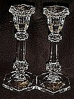 Lead Crystal candlesticks, elegant