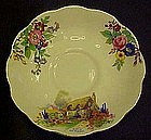 Royal Albert Crown China saucer, a bit of old England