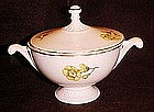 Vintage Buttercups pattern sugar bowl, Hall shape